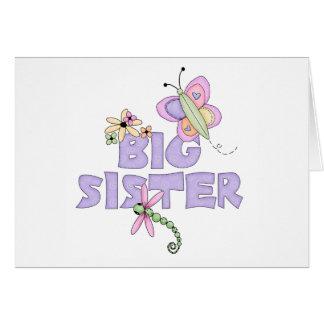 Cute Bugs Big Sister Card