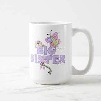 Cute Bugs Big Sister Coffee Mug