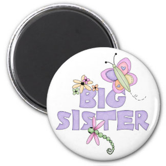 Cute Bugs Big Sister Refrigerator Magnets