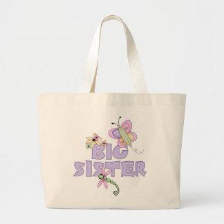 Cute Bugs Big Sister Jumbo Tote Bag