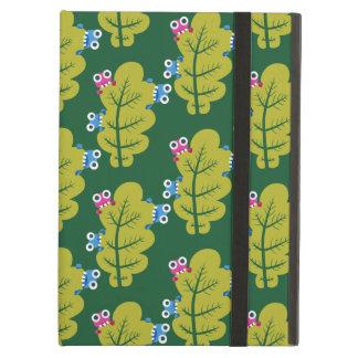 Cute Bugs Eat Green Leaf Pattern iPad Air Case