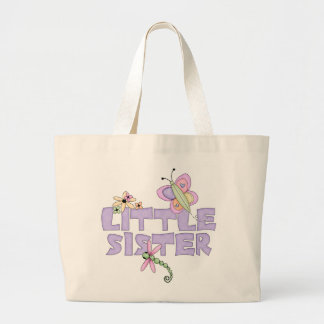 Cute Bugs Little Sister Large Tote Bag