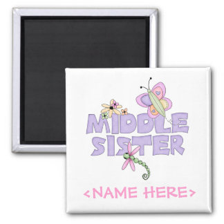 Cute Bugs Middle Sister Fridge Magnets