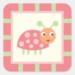 Cute Bugs Pink Ladybug