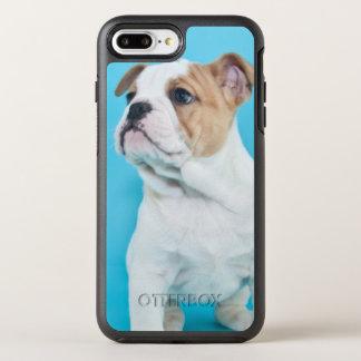 Cute Bulldog Puppy OtterBox Symmetry iPhone 8 Plus/7 Plus Case