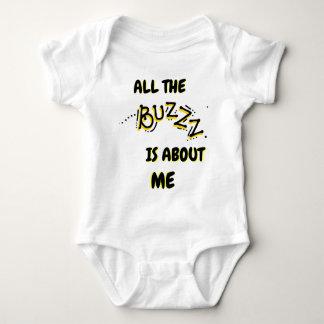 """Cute Bumble Bee"" BABY BODYSUIT"