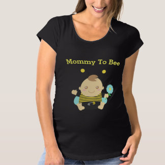 Cute Bumble Bee Baby Boy for Mommy To Be T-shirt