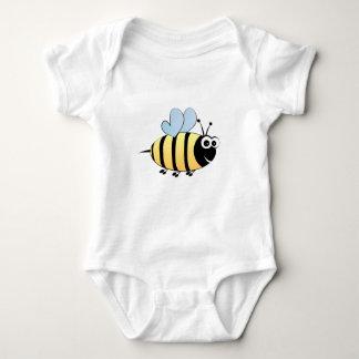 Cute bumble bee cartoon baby shirt