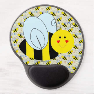 Cute Bumble Bee Gel Mouse Mat
