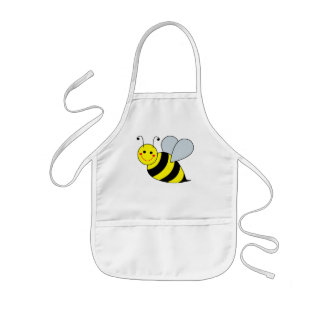 Cute Bumble Bee Kids Apron