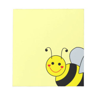 Cute Bumble Bee Notepad