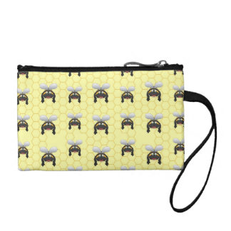 Cute Bumble Bee Pattern Coin Wallets