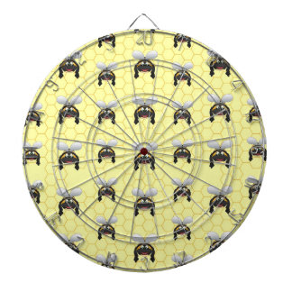 Cute Bumble Bee Pattern Dartboard