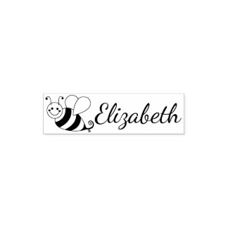 Cute Bumble Bee Personalized Pocket Stamp