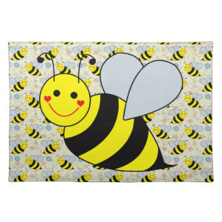 Cute Bumble Bee Placemat