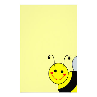 Cute Bumble Bee Stationery