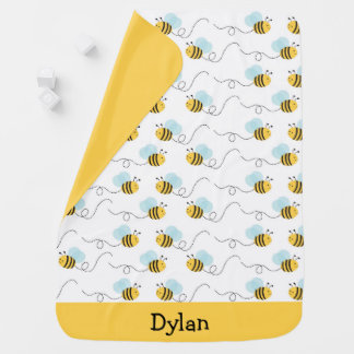 Cute Bumble Bee Swaddle Blankets