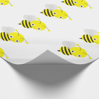 Cute Bumble Bee Wrapping Paper