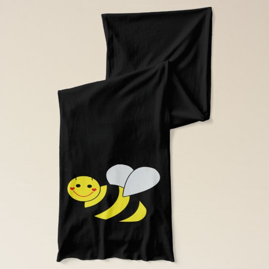 Cute Bumble Bees Scarf