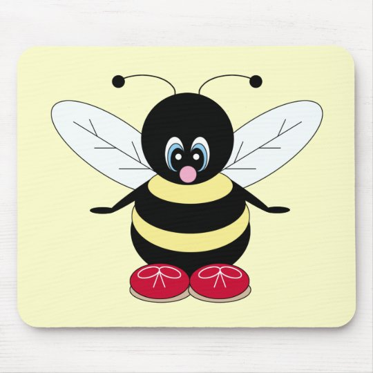 Cute Bumblebee Mousepad