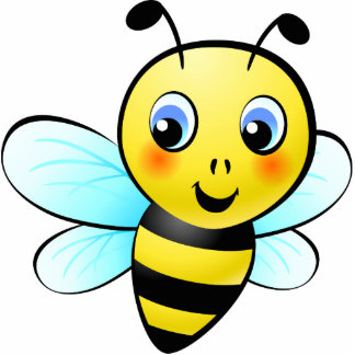 Cute Bumblebee Photo Sculpture Magnet