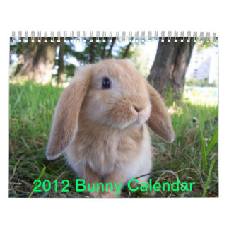 Cute Bunnies Calendars