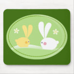 Cute Bunnies Mousemat