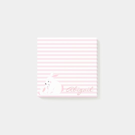 Cute bunnies | Personalised Post-its Post-it Notes