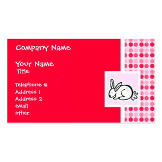 Cute Bunny Business Card Template