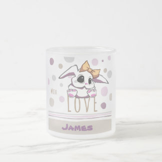 Cute Bunny Girl Mug Love