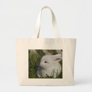 Cute Bunny great for Easter Large Tote Bag