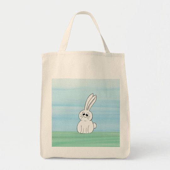 Cute Bunny Grocery Tote