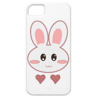 Cute Bunny Love iPhone 5 Cover