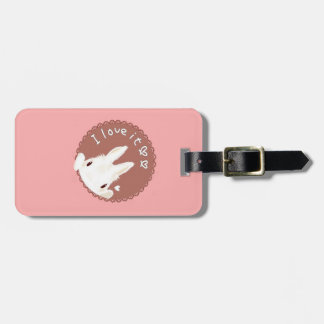 Cute Bunny name tag