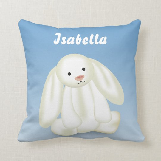 "Cute Bunny ""Name This!"" - Pillow"