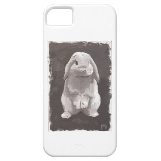 Cute Bunny Sitting Up iPhone 5 Case