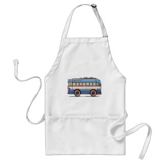 Cute Bus Tour Bus Standard Apron