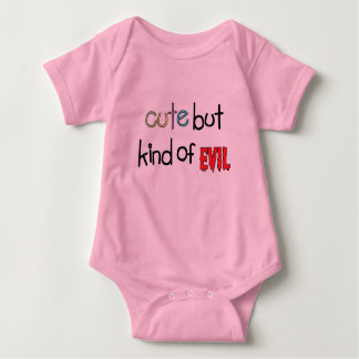 Cute but Kind of Evil Baby Bodysuit
