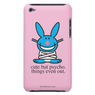 Cute but Psycho Barely There iPod Cover