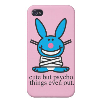 Cute but Psycho iPhone 4 Covers