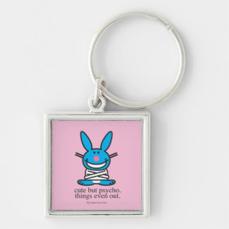 Cute but Psycho Key Ring
