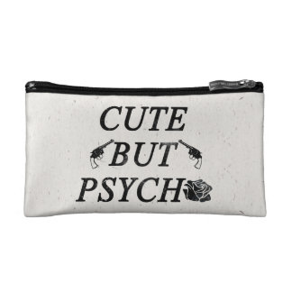Cute but psycho makeup bags