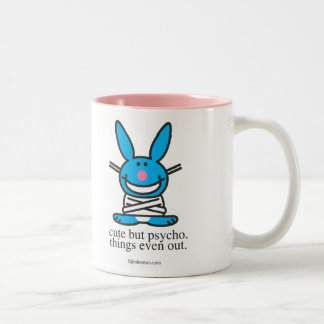 Cute but Psycho Two-Tone Mug