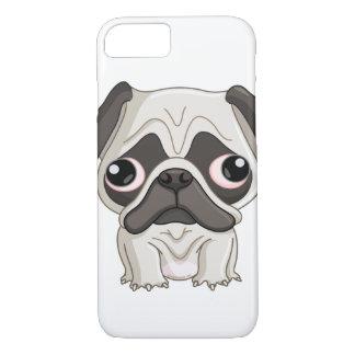 Cute But Sad Pug Puppy iPhone 7 Case