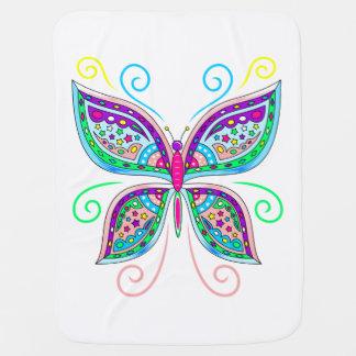 Cute Butterfly Baby Blanket