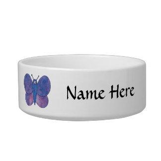 Cute Butterfly. Bowl