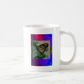 CUTE butterfly insect nature kids children family Basic White Mug