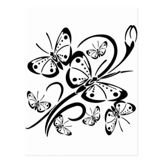 Cute Butterfly s Postcards