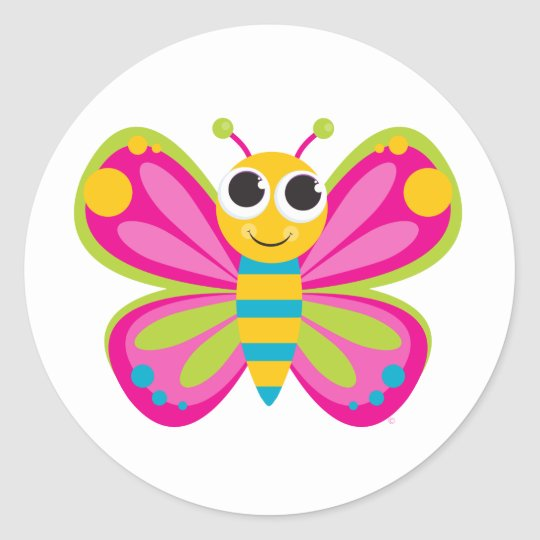 Cute butterfly stickers