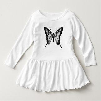 Cute Butterfly Wings Girls Dress
